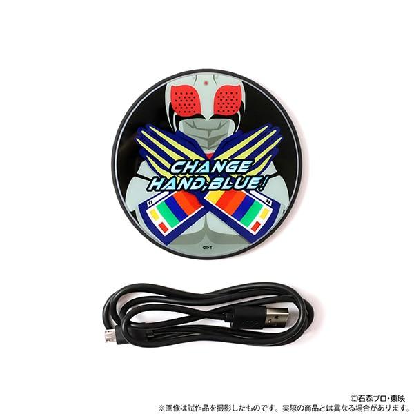 仮面ライダースーパー1 ワイヤレスモバイルチャージャー 仮面ライダースーパー1