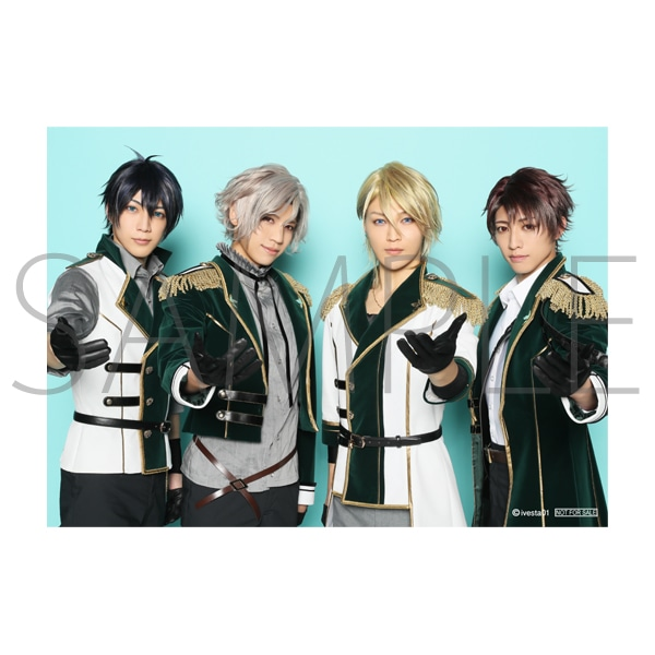「ALIVESTAGE」Episode 1 【D】ブロマイドセット(3枚セット) 藤村 衛:ステージ衣装