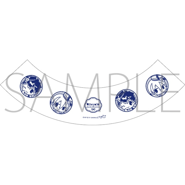 アイドリッシュセブン(原作版) ゆらゆらグラス Re:vale アイドリッシュセブン×サンリオキャラクターズ