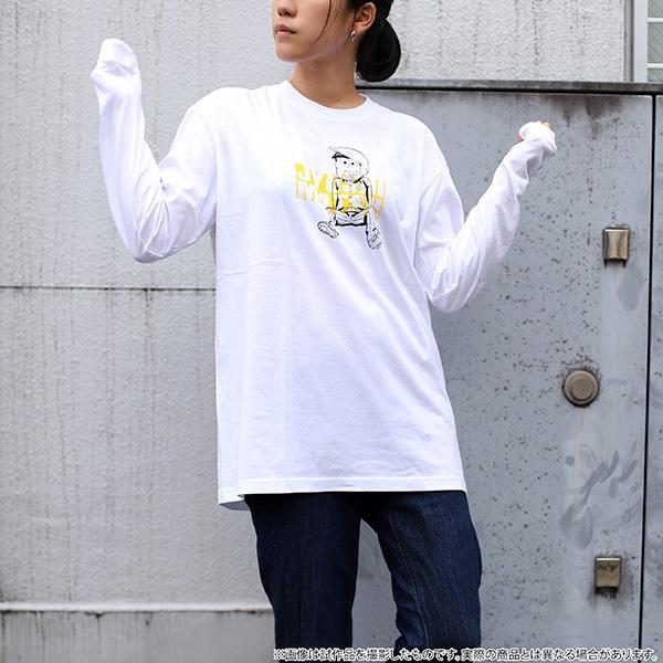 おそ松さん ビッグシルエット ロングスリーブTシャツ 十四松