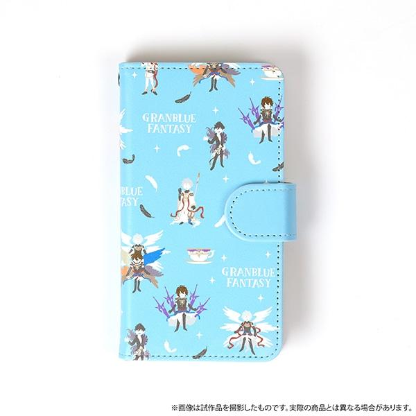 グランブルーファンタジー(原作版) 手帳型スマホケース どうして空は蒼いのか ゆるパレット