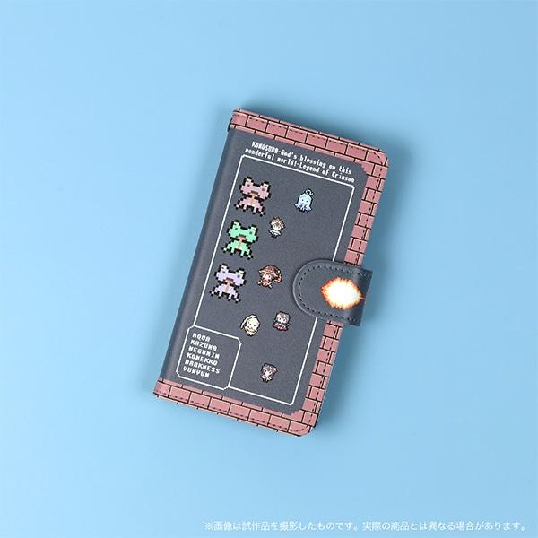 映画「この素晴らしい世界に祝福を!紅伝説」 手帳型スマートフォンケース