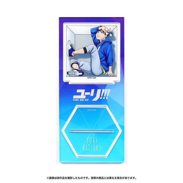 ユーリ!!! on ICE アクリルスタンド cube 勇利