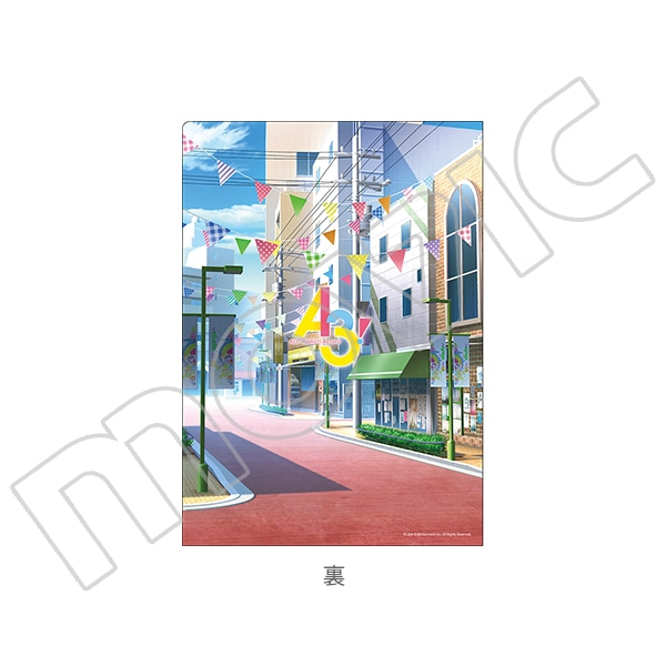 A3! クリアファイルセット 密&千景(開花前)