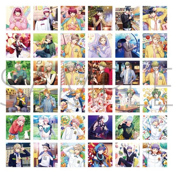 A3! ましコレ スクエアフォトコレクション Vol.2 春組&夏組