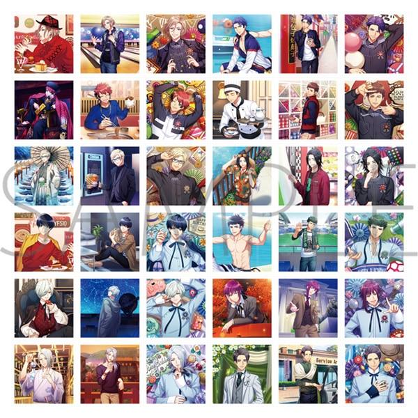 A3! ましコレ スクエアフォトコレクション Vol.2 秋組&冬組
