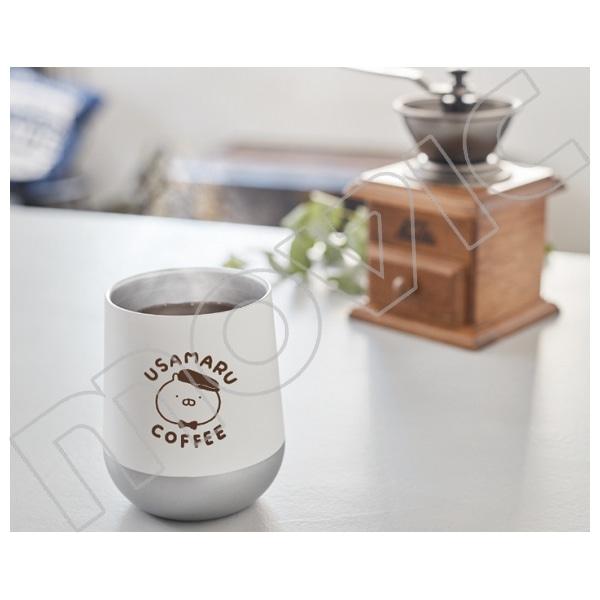 うさまる ステンレスサーモタンブラー うさまるcoffee