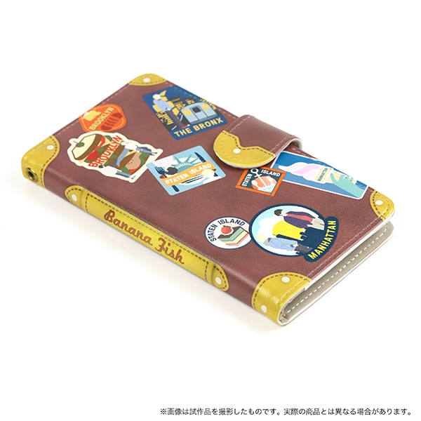 BANANA FISH 手帳型スマートフォンケース NYC