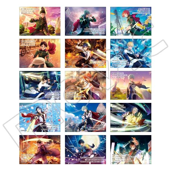ワールドエンドヒーローズ ポエムカードコレクション