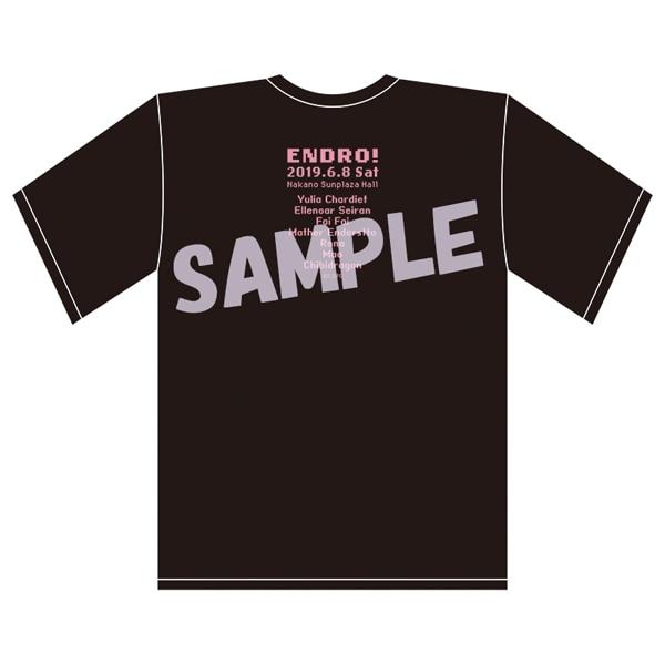「えんどろ〜!集まろ〜!スペシャルクエスト〜!」事後通販 ドットイラストTシャツ