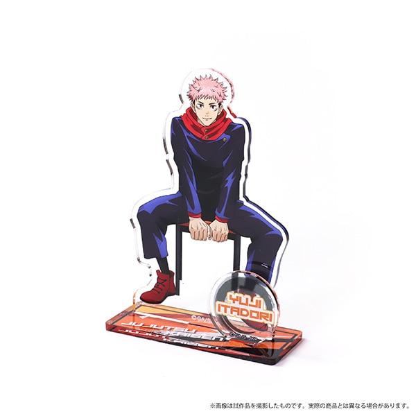 呪術廻戦 アクリルスタンド 虎杖 悠仁 椅子シリーズ 描き下ろし