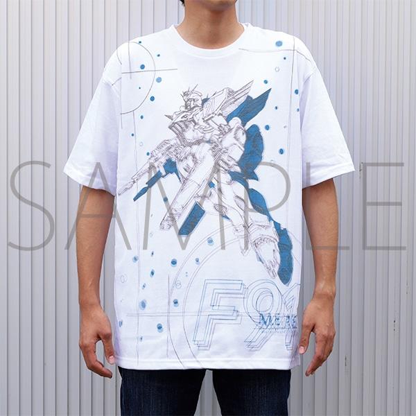 富野由悠季の世界 Tシャツ 機動戦士ガンダムF91