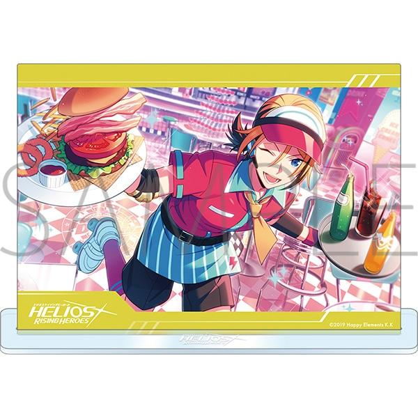 エリオスライジングヒーローズ アクリルアートパネルコレクション イベントver. B
