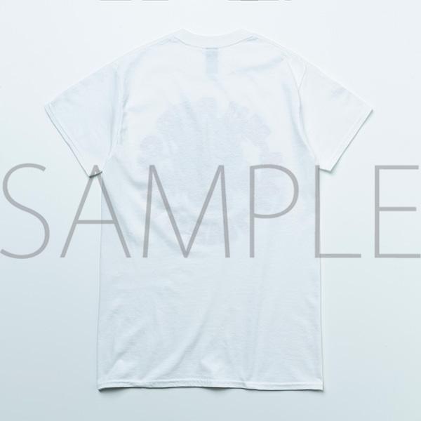 ジャムム レッチリTシャツ(サークル・白) Lサイズ