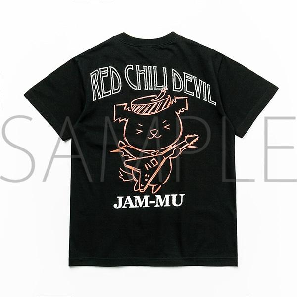 ジャムム レッチリTシャツ(ギター・黒) Sサイズ