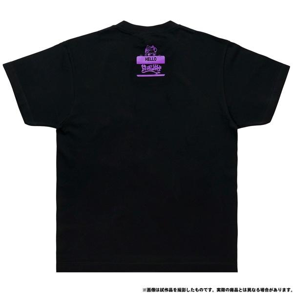 電音部 ーdenonbuー MNG × 電音部Tシャツ 黒鉄 たま L