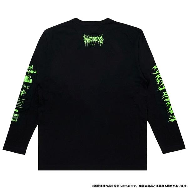 電音部 ーdenonbuー MNG × 電音部ロングTシャツ 茅野 ふたば XL