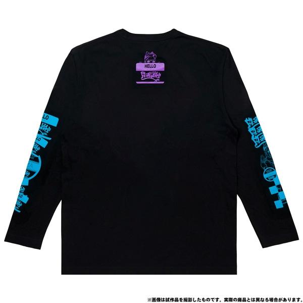 電音部 ーdenonbuー MNG × 電音部ロングTシャツ 黒鉄 たま M