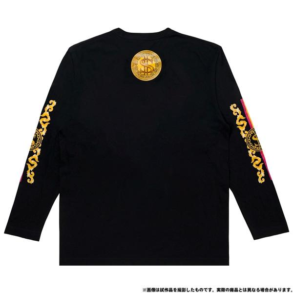 電音部 ーdenonbuー MNG × 電音部ロングTシャツ 白金 煌 L