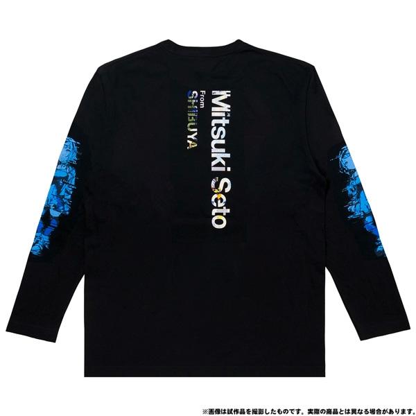 電音部 ーdenonbuー MNG × 電音部ロングTシャツ 瀬戸 海月 XL