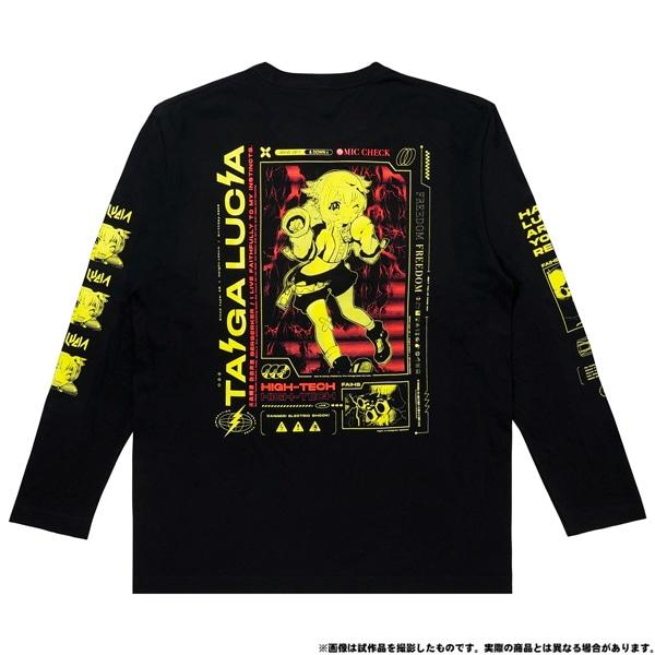 電音部 ーdenonbuー MNG × 電音部ロングTシャツ 大賀 ルキア XL