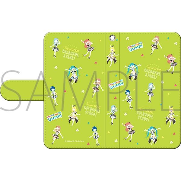 プロジェクトセカイ カラフルステージ! feat. 初音ミク 手帳型スマートフォンケース ゆるパレット MORE MORE JUMP!