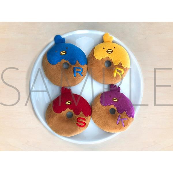 TSUKIPRO SHOP in HARAJUKU 「TSUKINO Sweets Kingdom」 「pioniX」トリドーナツぬいぐるみキーホルダーセット(4個セット)