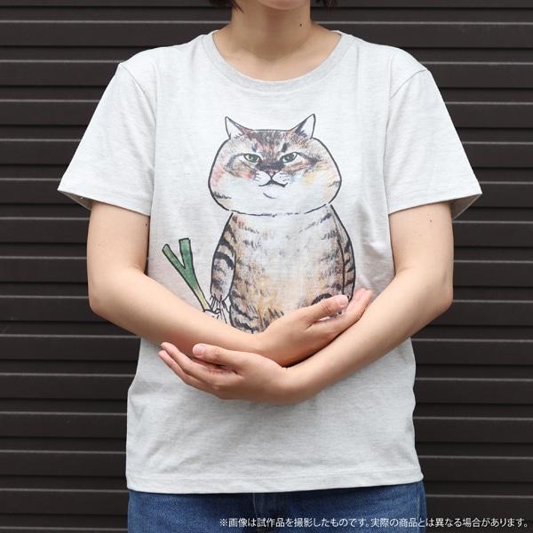 俺、つしま Tシャツ ネギ持ったつーさん