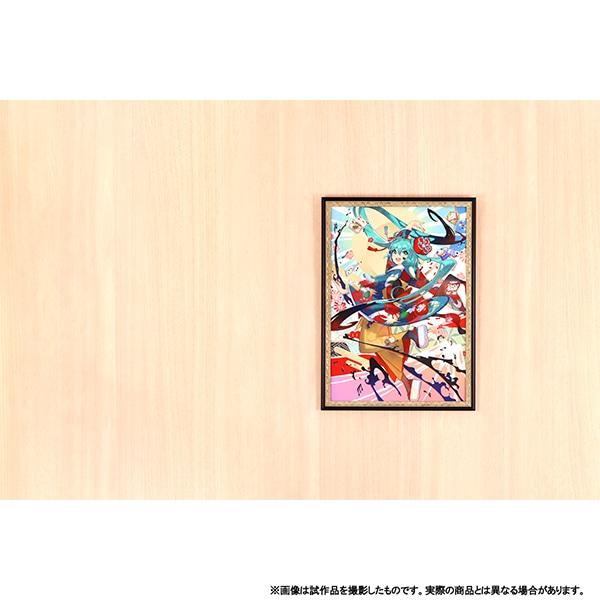 初音ミクシリーズ アートフレーム The beginning of a new year!【受注生産商品】
