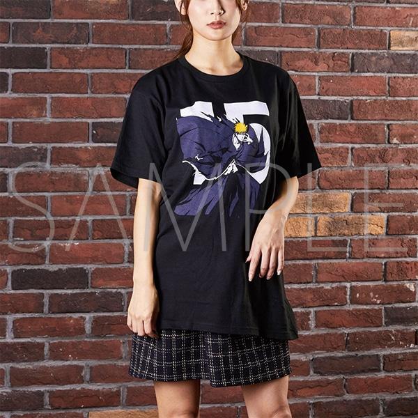 『BLEACH Brave Souls Museum』通信販売 BLEACH Brave Souls Tシャツ 黒崎一護 S