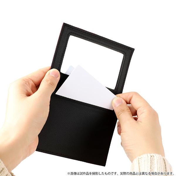 おそ松さん ミラー付きカードケース 一松