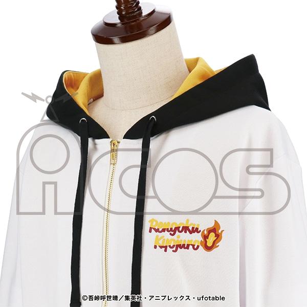 鬼滅の刃 イメージパーカー 煉獄杏寿郎 L