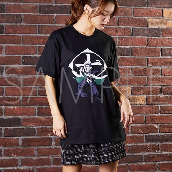 『BLEACH Brave Souls Museum』通信販売 BLEACH Brave Souls Tシャツ 日番谷冬獅郎 M