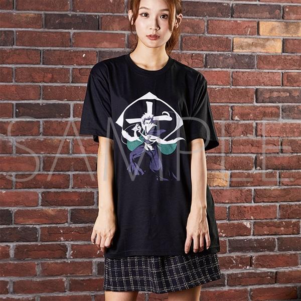 『BLEACH Brave Souls Museum』通信販売 BLEACH Brave Souls Tシャツ 日番谷冬獅郎 S