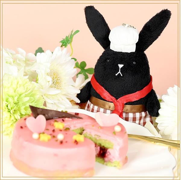 ツキウタ。 ガトールーレコラボケーキ うさぎ付き冬セット(ツキウサ。+師走駆、睦月始、如月恋のケーキのセット)