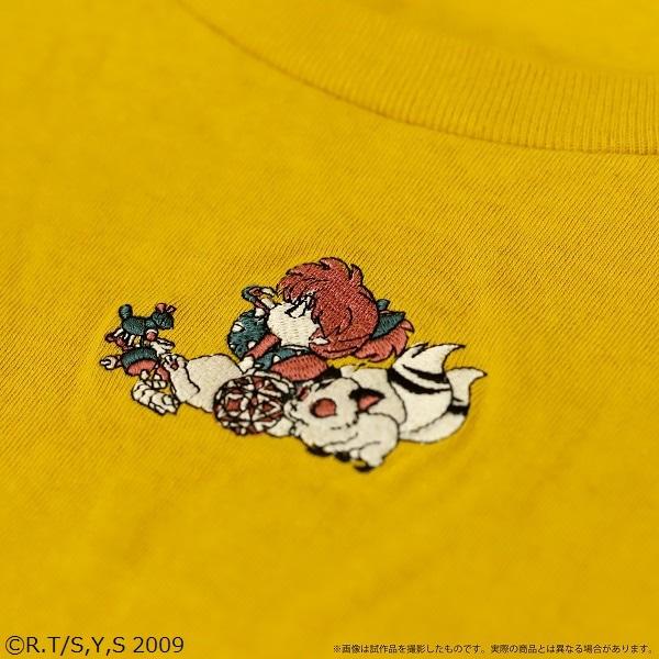 犬夜叉-アニメの軌跡展- Tシャツ 七宝&雲母