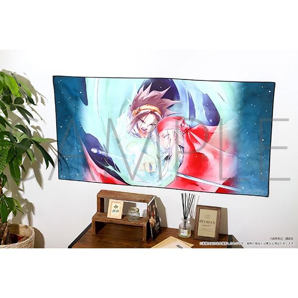 シャーマンキング展ゴーイング出雲開催記念通販 ビッグタオル 葉&アンナ