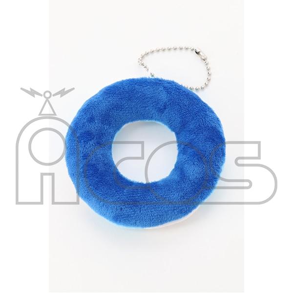 ぬいぐるみ浮き輪マスコット ブルー