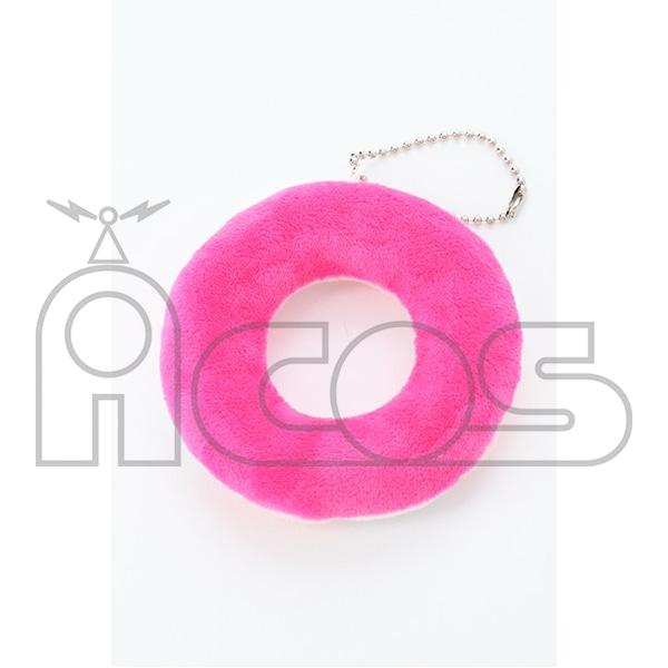 ぬいぐるみ浮き輪マスコット ピンク
