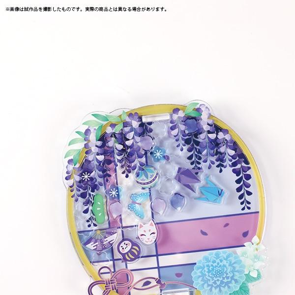 カスタマニア 花色硝子 藤