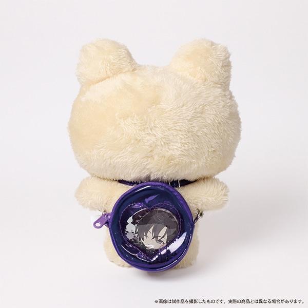 痛めいと MiMi-pochette(ミミ・ポシェット) クリアハートパープル
