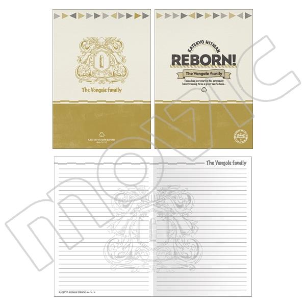 家庭教師ヒットマン REBORN! フラットケース&ノートセット ボンゴレファミリー