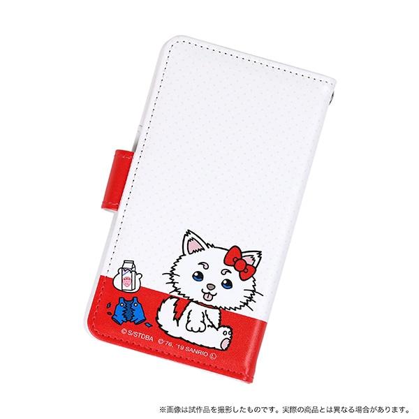 銀魂 手帳型スマートフォンケース サダアンドエリー 銀魂×サンリオキャラクターズ