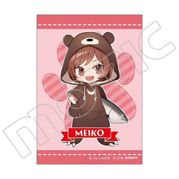 初音ミクシリーズ ぬいぐるみストラップ(イラストカード付き) しゅがお MEIKOくま