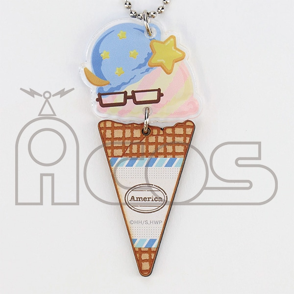 ヘタリア World★Stars アイスキーホルダー アメリカ