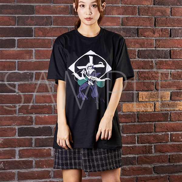『BLEACH Brave Souls Museum』通信販売 BLEACH Brave Souls Tシャツ 日番谷冬獅郎 XS