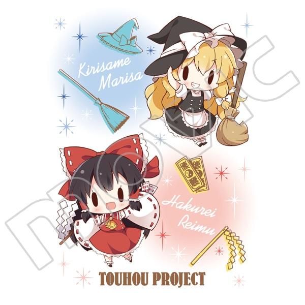 東方Project コンパクトミラー 霊夢&魔理沙 アリス&チルノ