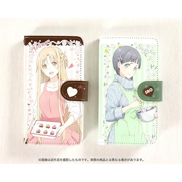 劇場版 ソードアート・オンライン -オーディナル・スケール- 手帳型スマートフォンケース 明日奈