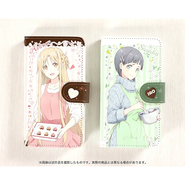 劇場版 ソードアート・オンライン -オーディナル・スケール- 手帳型スマートフォンケース 直葉