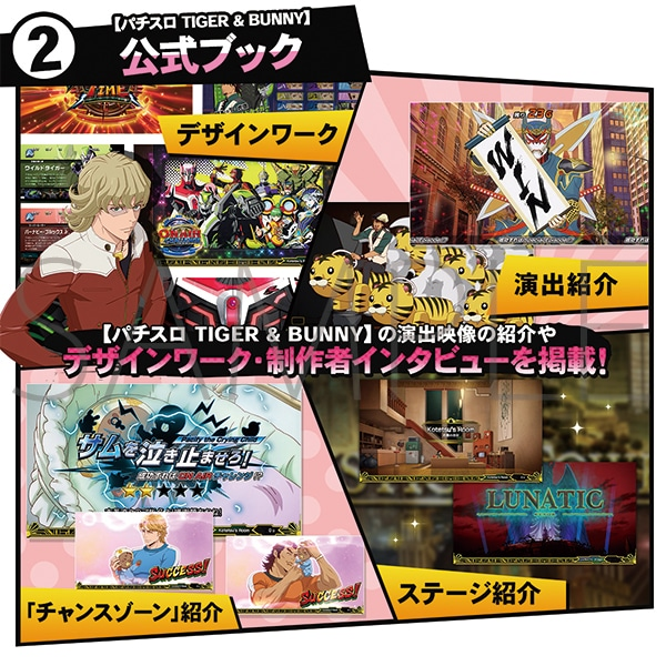 TIGER & BUNNY -THE SLOT WORKS-